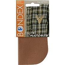 "BONDEX 2Pc Light Brown Duck 5/""x7/"" IRON ON MENDING PATCHES  Clothing Repair"