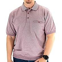Classics by Palmland S//S Horizontal Pieced Banded Bottom Shirt 6190-352