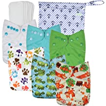 Pool and Gym Beach Wet Dry Bag 3pcs Reusable Hanging Waterproof Cloth Diaper Wet Bags with Two Zippered Pockets for Travel Basong Baby Wet Bag