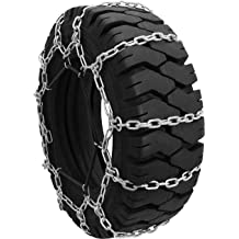 22x11x10 Raisman Pack of Two Zinc Plated Tire Chains 22x11.00-10 2 Link
