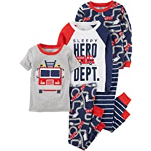 Carters Baby Boys 4 Pc Cotton 321g085