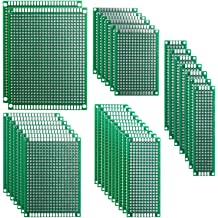 5x 7x10cm 3er hole Stripboard Prototyping platine Single Side circuit board pcb