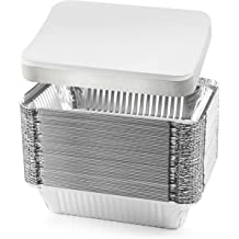 Lasagna 2 Pound 8.5 X 4.5 X 2.25 Meatloaf Plasticpro Bread Cookware Perfect for Baking Cakes 2 Lb 10 Pack Disposable Loaf Pans Aluminum Tin Foil Meal Prep Bakeware