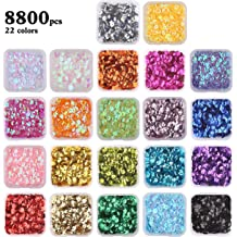 700 Pcs Round Loose Sequins Paillettes DIY Sewing Clothing Supplys Bag Shoes 6mm