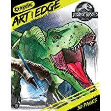 Coloring Books Universal Jurassic World Party Favors Pack ~ Bundle of 12 Jurassic World Play Packs Filled with Stickers Jurassic World Party Supplies Crayons with Bonus Stickers