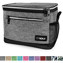 f342cae9818 OPUX Premium Insulated Lunch Bag with Shoulder Strap | Lunch Box for  Adults, Teens | Soft Leak Proof Liner | Medium Lunch Cooler for Office, .