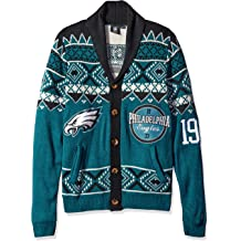 FOCO NFL Mens Ugly Cardigan Sweater 2015 Edition