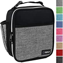9825756f01b OPUX Premium Insulated Lunch Box | Soft Leakproof School Lunch Bag for  Kids, Boys, Girls | Durable Reusable Work Lunch Pail Cooler for Adult .